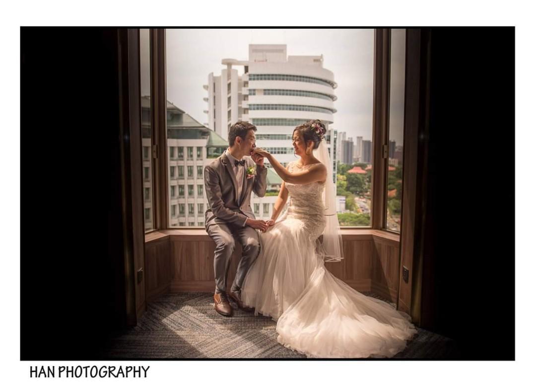 Wedding actual day photographer