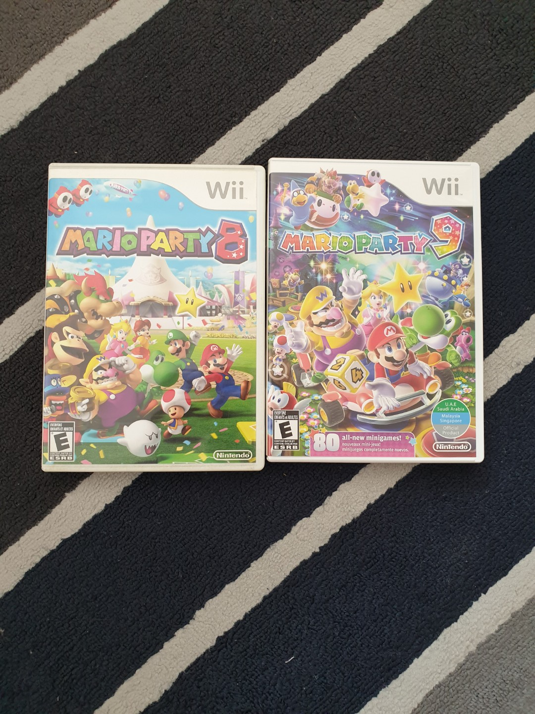 Wii game Mario Party 8 and Mario Party 9