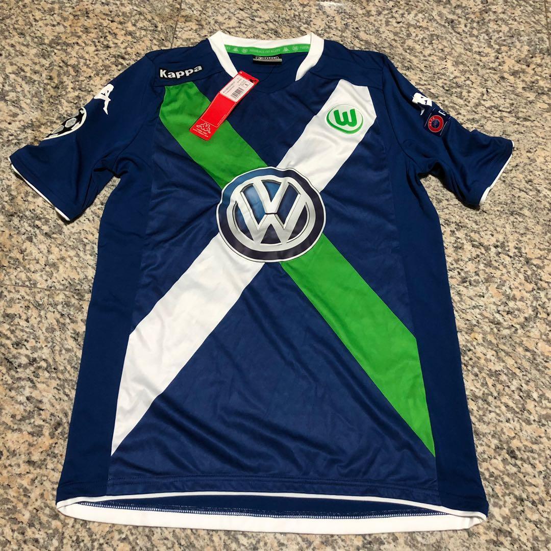 competitive price bc7f7 5658b Wolfsburg FC 2015 Champions League Jersey, Sports, Sports ...