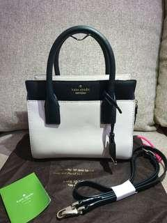 Kate Spade Cameron Street Small Candace Satchel Cement/Off Shore