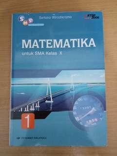 Matematika Untuk SMA Kelas X (ERLANGGA)