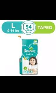Pampers tape L54