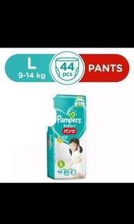 Pampers pants L44