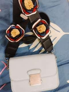 Zara Bag Flower Strap