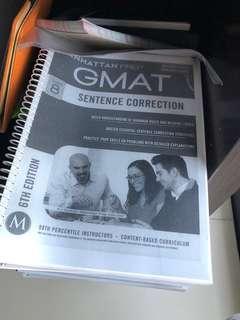 Manhattan GMAT 6th Edition : Unused