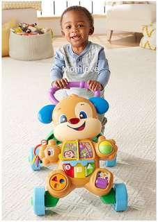 🚚 Ready Stock ! *USA Imported* Brand New Fisher Price Walker for 6m+ onwards (Best Baby Boy Shower Full-moon Present Gift Set)