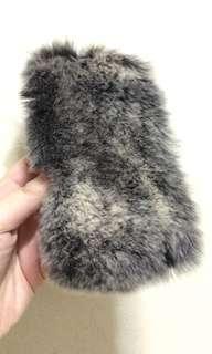 Copenhagen Bunny Case Fur Case iphone 6/6s