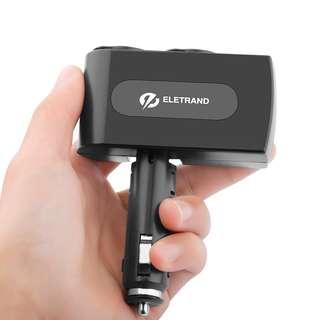 VALUE-BUY !! Car Cigarette Socket with USB Ports