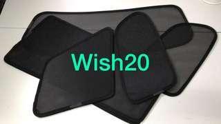 Wish 10 20平靚正汽車窗網太陽擋🚗😍