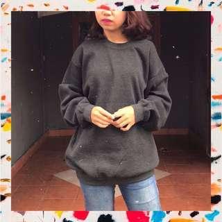🌼 A11 - Black Plain Sweater 🌼