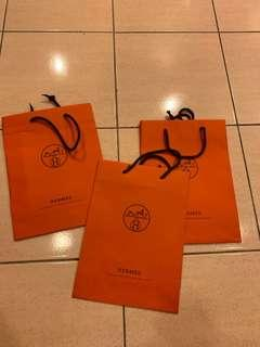 Authentic Hermès Paper bag