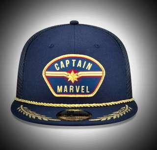 sports shoes 0a59d db7e5 New Era Cap 🧢 CAPTAIN MARVEL PATCH 9FIFTY SNAPBACK 💯% authentic   brand- New