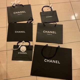 Authentic Chanel Paper Bag