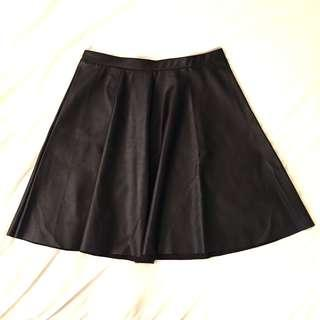 Mendocino black vegan leather skirt (brand new with tags)