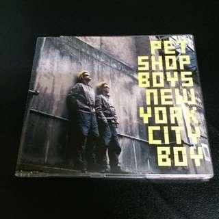 PET SHOP BOYS New York City Boy CD Single 3 Tracks