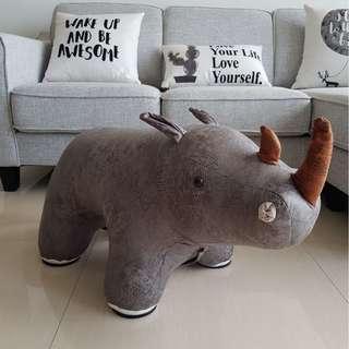 Mighty Rhino Animal Stool