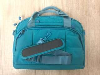 99% New Go Travel Laptop bag in turquoise