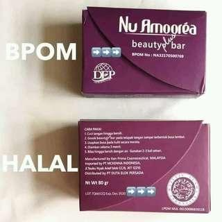 Sabun Nu Amoorea Beauty Plus Bar 45 gr