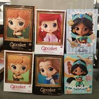 Qposket - Jasmine/ Belle/ Anna