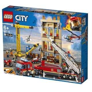 [ 送貨的 ] Lego 60216 Downtown Fire Brigade