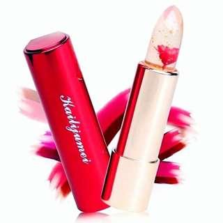 🚚 BNIB Authentic Kailijumei Kailijiumei Lipstick Red (Floral Flower Beauty & Beast Lipcolour Lipbalm Lipgloss Lip Balm Lips Colour Color Gloss Tint Tints Makeup Brand New)