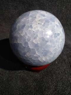 天青石球 celestine ball