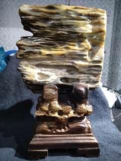 木化玉 petrified wood