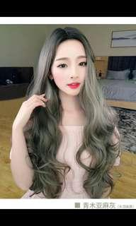 🚚 (NO INSTOCKS!)Preorder korean centre parting wavy long Wig*waiting time 15 days after payment is made * chat to buy to order