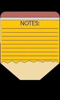 RAFFLES/HWA CHONG/DUNMAN HIGH H2 PHY NOTES