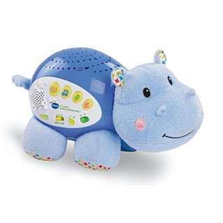 VTech Baby Lil' Critters Soothing Starlight Hippo (Blue/Pink)