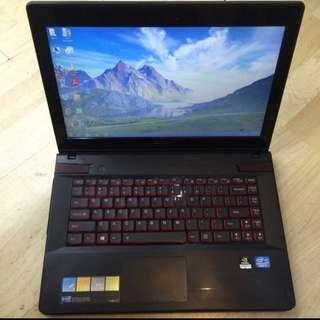 Lenovo Gaming Y400 Quad Core I7 Nvidia GT650M