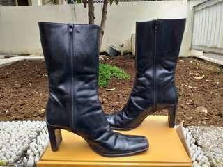 Sepatu Boots Original Leather - Size 38