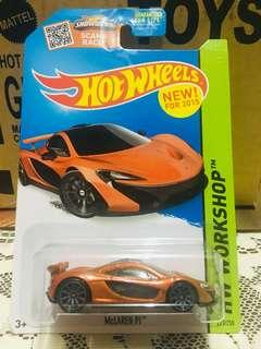 Hotwheels Mclaren P1 (US card)