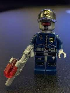 Lego人仔 movie police robot
