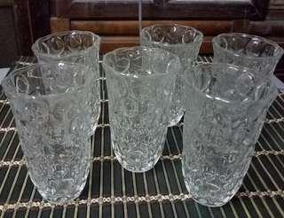 6 PC SET DRINKING GLASS