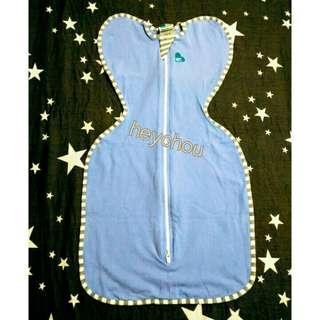 🚚 全新original一般款 蝶型包巾 love to dream 藍色