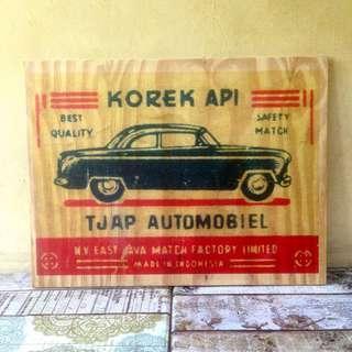 iklan kayu vintage
