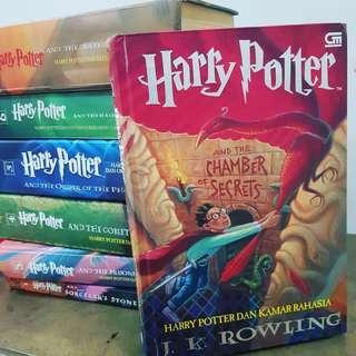 Buku Harry Potter Hard Cover