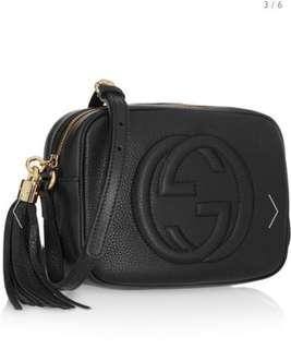 Gucci Soho Disco Bag-Black( reduced to $900)