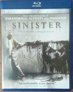 Blu Ray Sinister