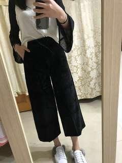 🚚 絨布寬褲