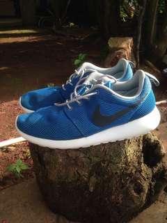 Nike Roshe Run Original Photo Blue Coal Black