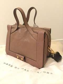 Brand new Marc by Marc Jacobs dusty pink leather hand bag $649