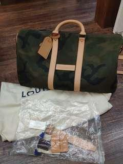 Louis Vuitton x Supreme Keepall #MILAN02