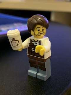 Lego Minifigure 咖啡師 71004 movie