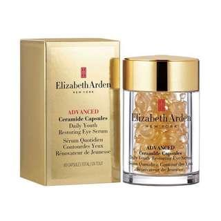 [現貨]Elizabeth Arden Advanced Ceramide Capsules Daily Youth Restoring Eye Serum 60pcs