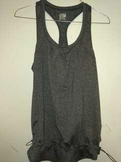 heather grey tank