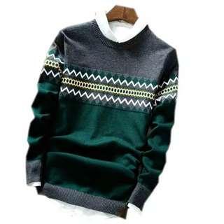Sweater rajut michael green
