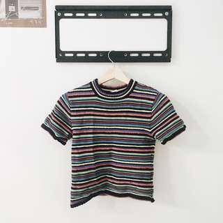 🚚 Zara knit crop top