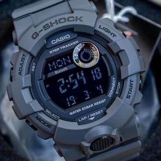 🚚 NEW🌟ARRIVAL in GSHOCK DIVER SPORTS WATCH : 100% ORIGINAL AUTHENTIC G-SHOCK STEP-TRACKER WIRELESS BLUETOOTH SMARTPHONE ANDROID LINK: Best For Most Rough Users & Unisex : GBD-800UC-8DR / GBD800UC-8 / GBD-800UC-8 / CASIO / GSHOCK / WATCH